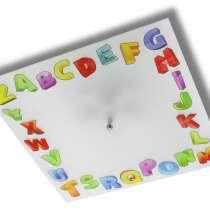 Детская люстра с изображением алфавита, в Ростове-на-Дону