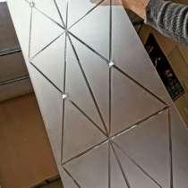 Пескоструйная обработка зеркал с элементами фьюзинга, в г.Брест