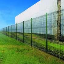 3Д забор Еврозабор 2430х2500х4 мм. Порошк. окр., в Краснодаре