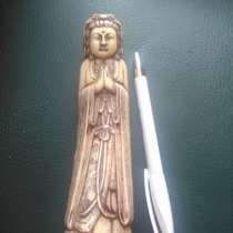 Старинная китайская статуэтка из кости, в Москве