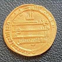 Золотая монета 816-года выпуска, в г.Zetea