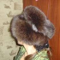Меховая шапка, в Домодедове