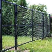 Забор из сетки рабица, в Подольске