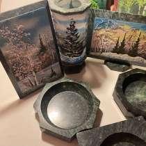 Пепельницы, картинки, карандашница из натур камня, в Саратове