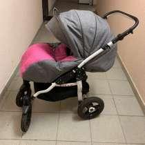 Детская коляска babyton dizzi pink 2 в 1, в Санкт-Петербурге