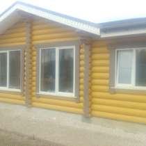 Отделка деревянного дома, в Костроме