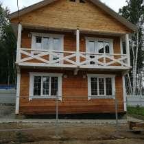 Брусовой коттедж недалеко от остановки общественного трансп, в Иркутске