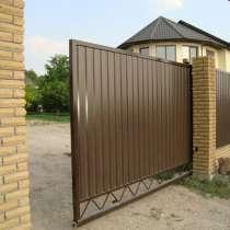 Откатные ворота, гаражные ворота, в Иркутске