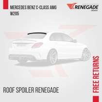 Roof spoiler para Mercedes Benz C-Classe W, в г.Лондрина