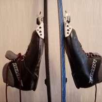 Лыжи пластиковые с ботинками, в Ижевске