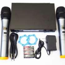 Радиосистема Shure UK80 база 2 радиомикрофона, в г.Киев