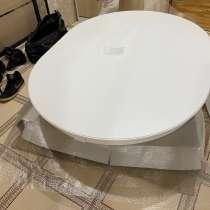 Кухонный стол, дуб мдф, 120 см, раздвижной, круглый, в Раменское