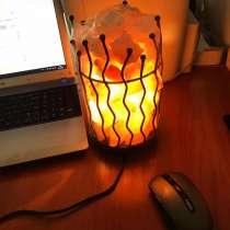 Солевая лампа 3 кг, в г.Алматы