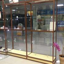 Витрины стеклянные из алюминиевого профиля 2300 мм, в Мытищи