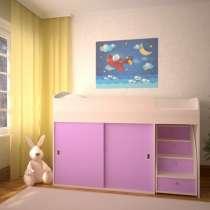 Кровать-чердак Малыш-Купе, в Екатеринбурге