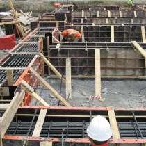 Фундамент бетоннно монолитные работы, в Туапсе