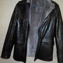 Продам куртку мужскую.Кожа на натуральном меху Р 46-48 Минск, в г.Минск