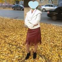 Продам кожаную юбку, новую, в Саратове