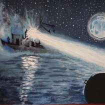 Картина акрилом. Морской патруль, в Ярославле