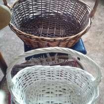 Плетеные корзины, в г.Семей