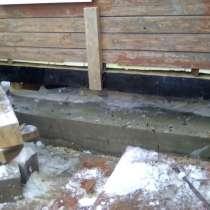Замена фундамента под деревянные и каркасные дома, ремонт ст, в г.Минск