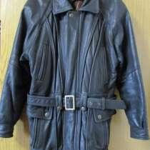 Две мужских демисезонных кожаных куртки, в Коломне