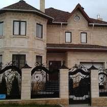 Фасад Кавказским Камнем, в Уфе