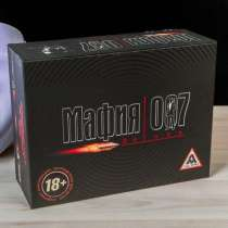 Настольная игра Мафия 007, в Искитиме
