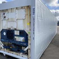 Рефконтейнер 40 фут Carrier 2002 г. из Иркутска №SEBU6203990, в г.Улан-Батор