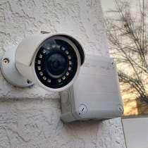 Комплект AHD видеонаблюдения на 4 уличные камеры, в Нижнем Новгороде