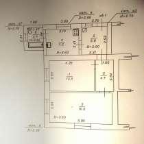 Квартира в станице Благовещенской, 51,6 м 2, на участке 3 ст, в Анапе