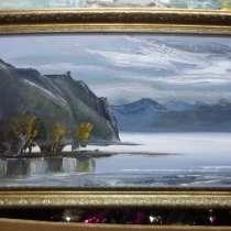 Картина масло Мыс, байкала В. Осипов, в Иркутске