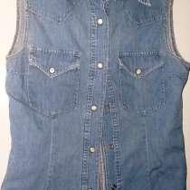 Рубашка джинсовая, р.44-46, в г.Брест