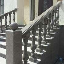 Лестницы из гранита, мрамора и травертина, в г.Алматы