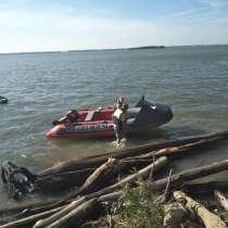 Продам лодку пвх 460 с мотором, в Новосибирске