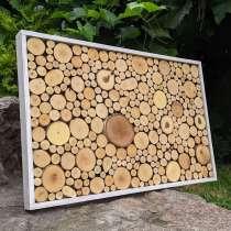 Панно - картина из спилов дерева, в г.Гомель