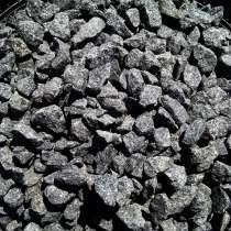 Щебень цветной декоративный черный фр. 5-20 (25 кг), в Краснодаре