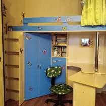 Детская кровать с рабочим местом, в Москве