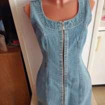 Новый джинсовый сарафан на молнии 30 размера, в Пятигорске