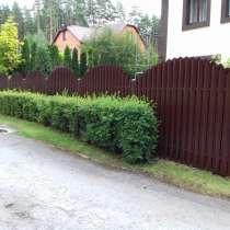 Заборы, в Липецке