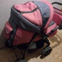 Продам детскую коляску для девочки 3в 1, в Омске