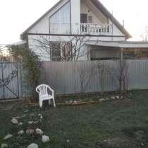 Дом с участком земли. смансардой. с мебелью, в Краснодаре
