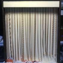 Золотые цепи и браслеты 585 пробы!, в Москве