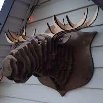Головы животных 3Д из фанеры, в Боровичах