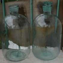 Бутыли стеклянные 10 и 20 литров, в Владимире