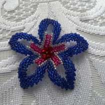 Цветок из бисера, в Муравленко