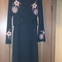 Черное платье с вышивками от george р.14 xl, в г.Шостка