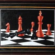 Этюды о шахматах, в Москве