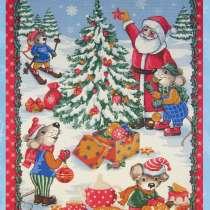 Новогодние вафельные полотенца оптом от «Ева» г. Иваново, в Казани