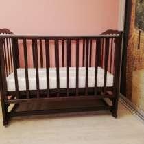 Кровать детская 120х60 см (Кристина (Можга) с матрасом, в Москве